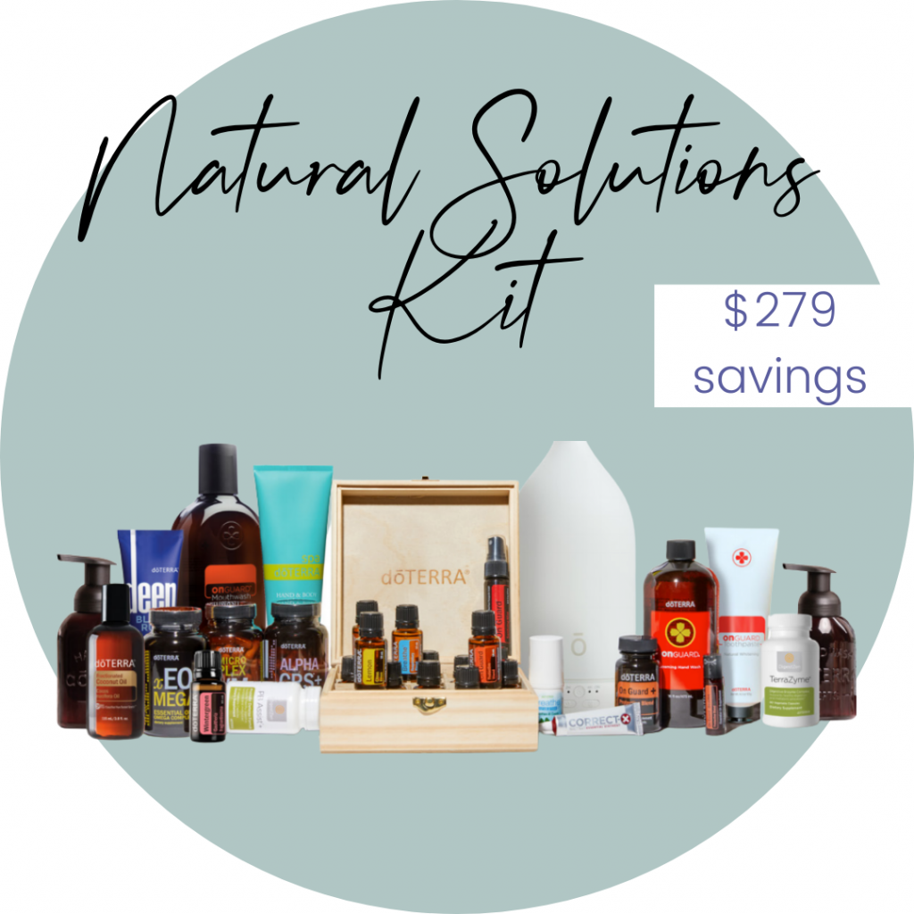 image of doterra natural solutions kit