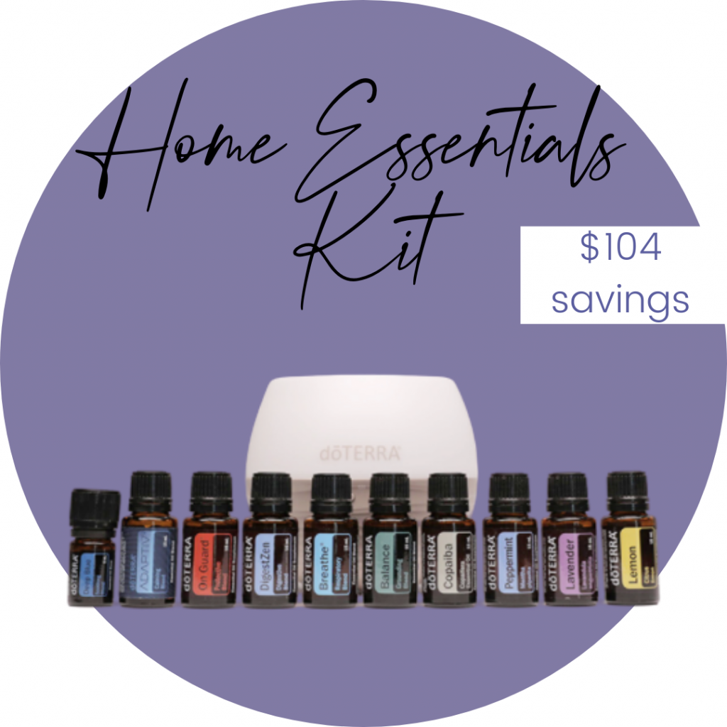 image of doterra home essentials kit